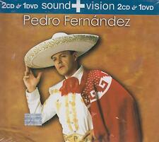 CD - Pedro Fernandez NEW 2 CD's & 1 DVD Sound + Vision FAST SHIPPING !