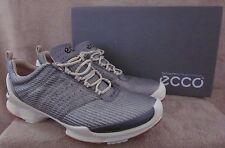 ECCO Biom Train 1.1 Lace Silver & White Mesh Shoes US 10 - 10.5 M EUR 44 NWB