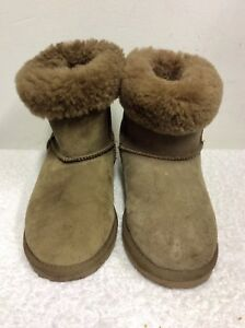 EMU-STINGER-LO-LIGHT-BROWN-SHEEPSKIN-FUR-LINED-ANKLE-BOOTS-SIZE-6-39-COST-150