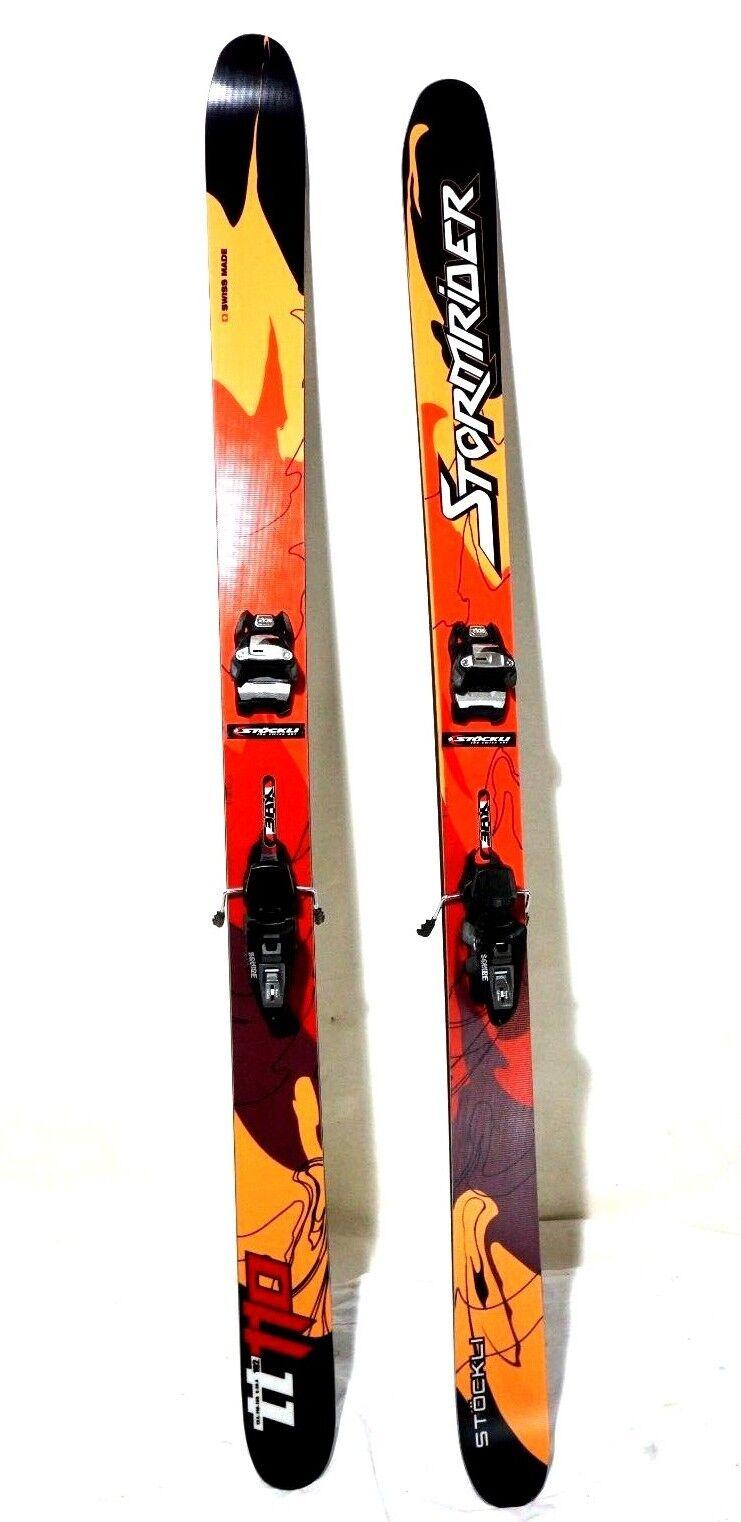 Stocklei Stormrider 110 TT POwder Skis NIEUWE Bindingen BRAND NIEUWE Ski 192cm DE BEST