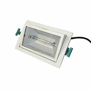Philips mbs 150 watt hci hqi recessed spotlight cdm td rx7s image is loading philips mbs 150 watt hci hqi recessed spotlight aloadofball Images