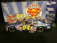 Action Nascar 1:24 Car Jeff Gordon 24 Dupont/superman 1999 Chevy Monte Carlo