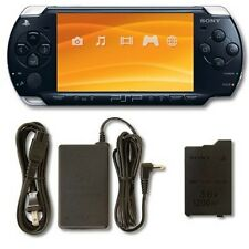 PlayStation Portable PSP 2000 System Piano Black Handheld Good 3Q