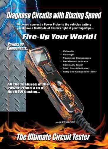 Power Probe 319ftc-fire III Spannungsprüfer Set Fire