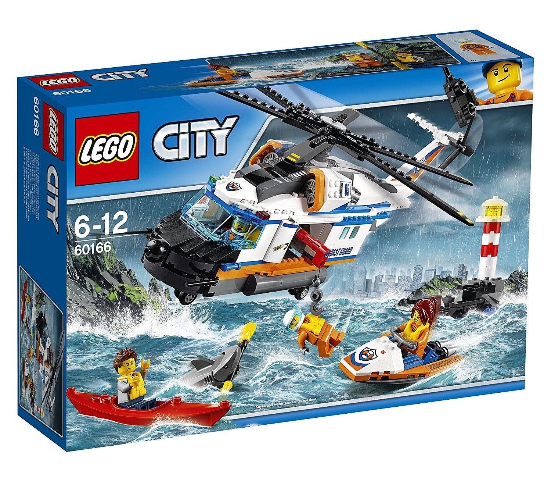 LEGO® CITY KÜSTENWACHE - SEENOT-RETTUNGSHUBSCHRAUBER SEENOT-RETTUNGSHUBSCHRAUBER SEENOT-RETTUNGSHUBSCHRAUBER - Lego 60166 - NEU a144e4