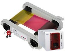 Evolis R5F002EAA YMCKO Colour Ribbon 200 Image for the Evolis Zenius
