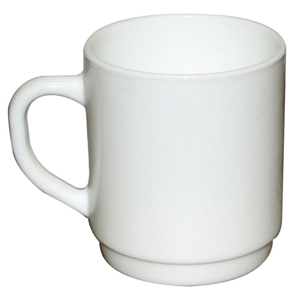 Cardinal 64733 Arcgoldc Restaurant White 10 oz Mug - 36   CS