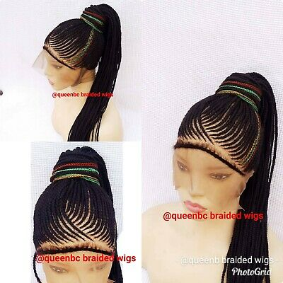 Braided Wig Ready To Ship Beautiful Gucci Braided Ponytail Wig