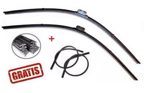 SLR Wischergummi GRATIS 2x Scheibenwischer MERCEDES E-KLASSE W211 CLS SL