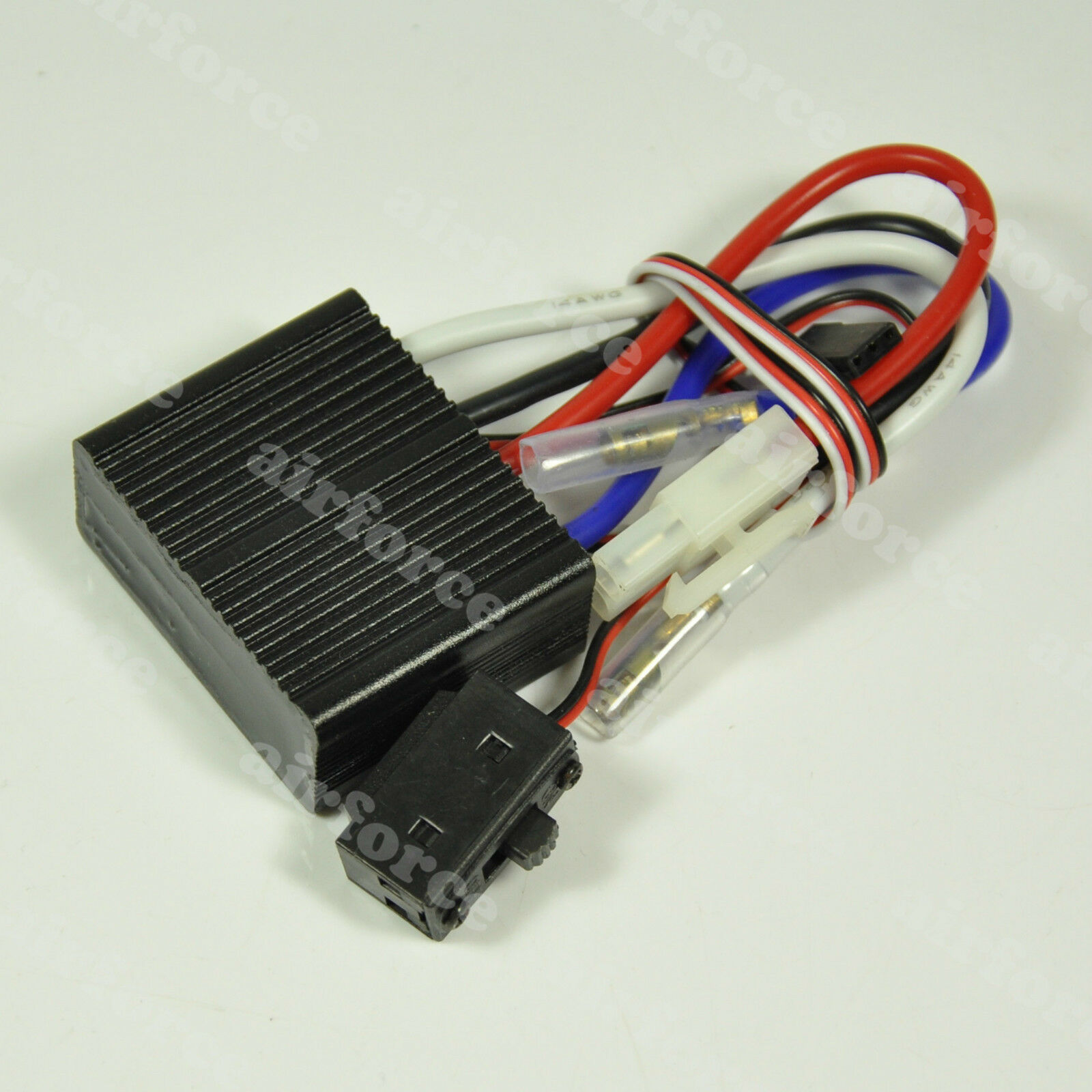 24V Bidirectional Brush ESC Two-way  Electronic for RC plane auto Boat Tank modellolo  forma unica