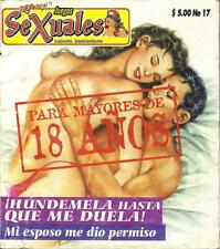 """JUEGOS SEXUALES""  HUNDEMELA mexican comic SEXY GIRLS, SPICY HISTORIES #17"