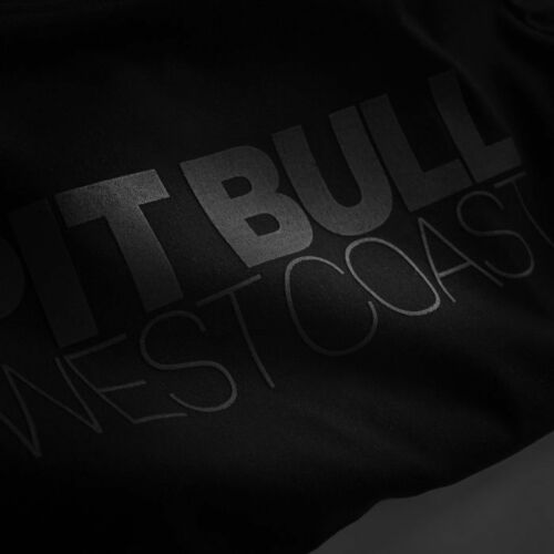 Pit Bull West Coast Women T-Shirt Seascape 18 Pitbull Black Schwarz