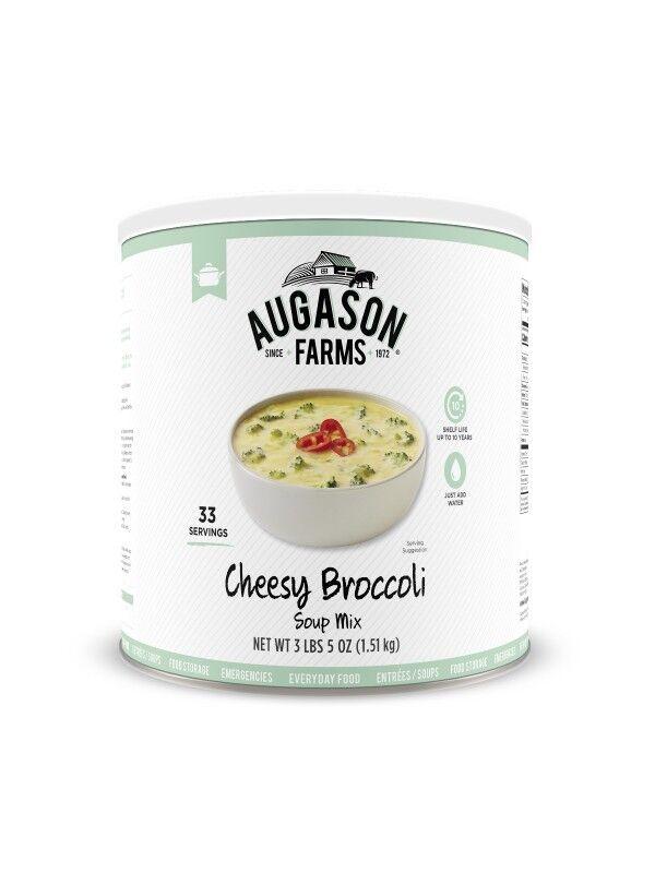 Augason Farms Emergency Camp RV Food Cheesy Broccoli Soup Mix Gluten Free
