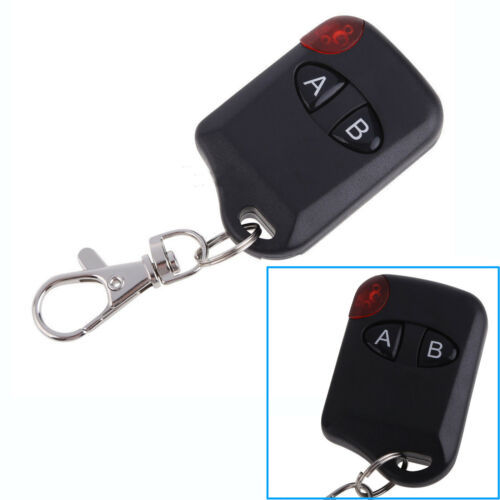 2 Button RF Wireless Remote Control Transmitter Garage Door DC12V 433MHz