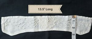 A13 Antique Coronation Cord Embroidered Collar Collars Salvage Sewing Costumes