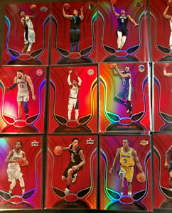 2019-20-Panini-Certified-Basketball-Red-Mirror-Base-Parallel-1-150-You-Pick-Card