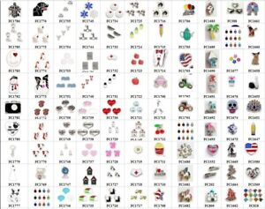 hot-10pcs-Mix-Style-Floating-Charms-For-Glass-Living-Memory-Locket-Free-shipping