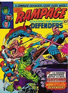 RAMPAGE-5-Marvel-Comics-International-1977-Back-Issue