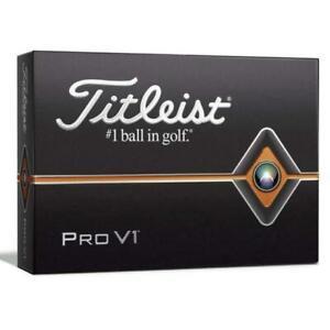 Titleist Pro V1 2019 Golf Balls White - 1 Dozen