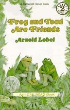 Frog and Toad Are Friends Book and Tape (I Can Read Book 2)-ExLibrary