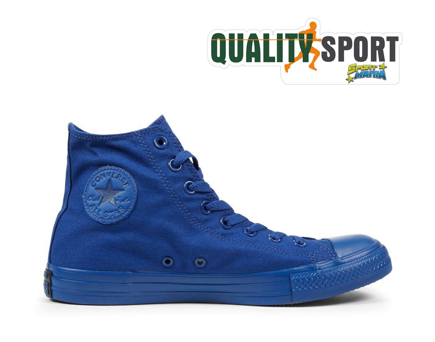 Converse All Star Sportive CT Hi Monochrome Blu Scarpe Sportive Star Baskets 152703C 3686ad