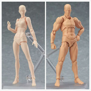 Figma Young Version 2.0 Light BODY CHAN & Kun 2pcs Moveable Action Figure Model