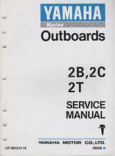 1995 YAMAHA OUTBOARD MOTOR 2B, 2C, 2T SERVICE MANUAL LIT-18616-01-16 (628)