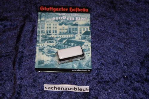 Hacker Bräu Blechschild 16x11 MB Oldie  1//87 Modell