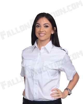 Aero Phoenix Lady Elite Pilot Uniform Shirt Womens Short Sleeve