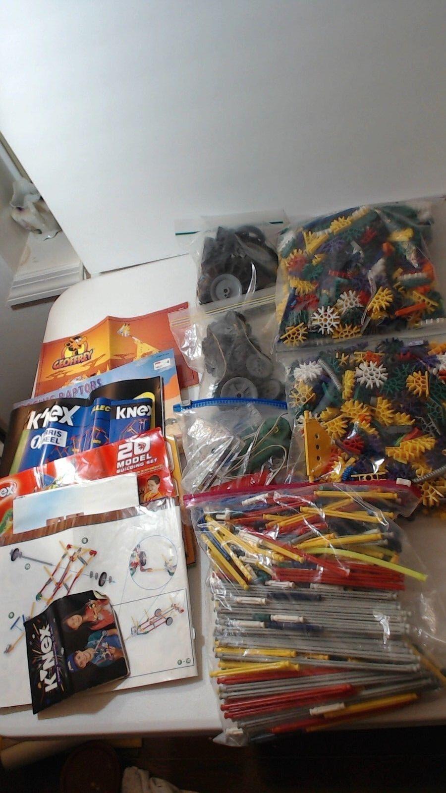 Large Lot of K'NEX Parts