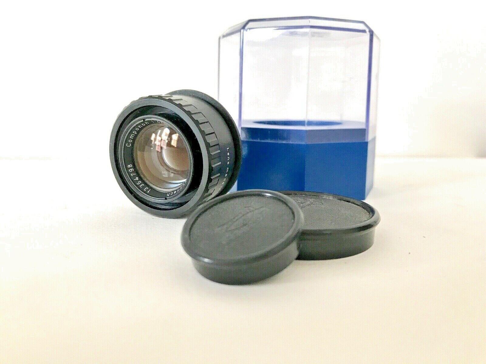 Schneider Componon 50mm F4 Enlarging Lens with Original box and lens caps