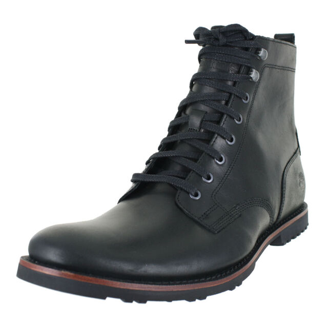 588a01ebc2e Timberland Kendrick Side Zip BOOTS A1n19 Black Mens US Size 9.5 UK 9