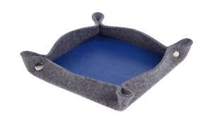 Felex-Taschenleerer-Blau-19x19x3-cm-Ablageschale-Aufbewahrungsschale-Organizer