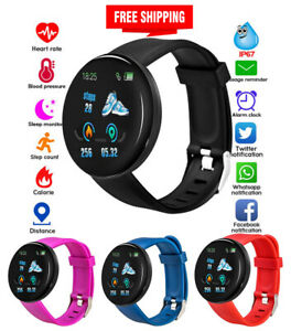 Reloj-Inteligente-Deportivo-Monitor-Ritmo-Cardiaco-Presion-Arterial-Android-IOS