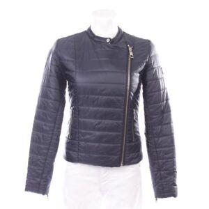 de Veste Blue transition de Femmes Veste Veste Taille la Manteau fermée Manteau S veste dRqd6W07