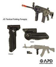 Tactical Folding ForeGrip AEG Airsoft RIS 11mm/20mm Rail M4 AK47 AK