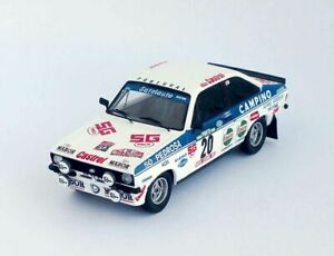 Model-Car-Rally-Scale-1-43-Trofeu-Ford-Escort-MK2-vehicles-road-Rallye