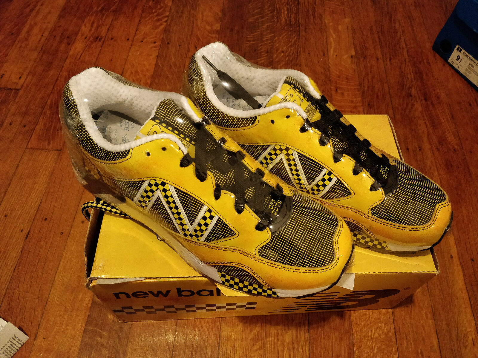 New Balance 480 Taxi LE (MRE480TX) YELLOW Size 9.5 LIMITED EDITION NEW