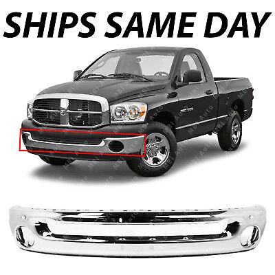 2500 3500 2002-2009 New CH1102371 Rear Step Bumper Steel for Dodge Ram 1500