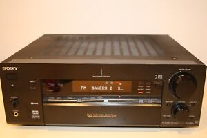 Sony-STR-DB870-6-1A-V-Receiver-100-Watt-Phono-tuner-Optik-dig-coax-dig-mit-Fb