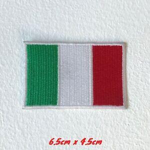 Italie-Drapeau-Motorsports-Italien-Motorgp-Brode-Repasser-Patch-a-Coudre-1493