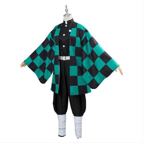 Unisex Clothing Shoes Accessories Kamado Tanjiro Demon Slayer Kimetsu No Yaiba Cosplay Costume Cape Kimono Myself Co Ls