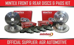 MINTEX-FRONT-REAR-DISCS-AND-PADS-FOR-CITROEN-C4-PICASSO-1-6-TD-2006-13