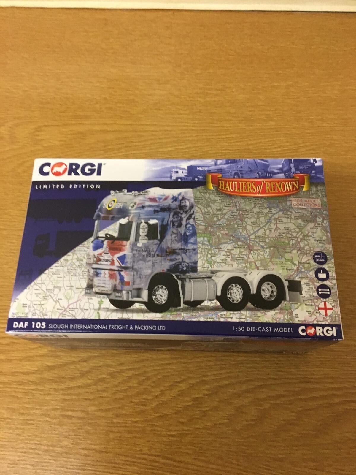 Corgi DAF 105 Slough International Freight & Packing LTD 1 50 Scale