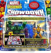 "Marvel Comics Universe scale SHOWDOWN  WOLVERINE v HULK 3.75"" figure set RARE"