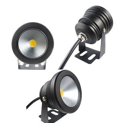 10W Underwater LED Flood Wash Pool Waterproof Light Spot Lamp 12V Outdoor GA