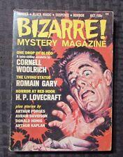 1965 BIZARRE Mystery Magazine v.1 #1 FVF Murder Black Magic Suspense Horror 142p