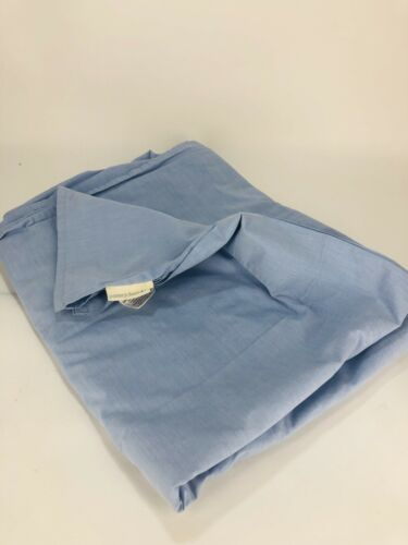 Pottery Barn Kids Solid Light Blue Flat Sheet Twin Size 100/% Cotton