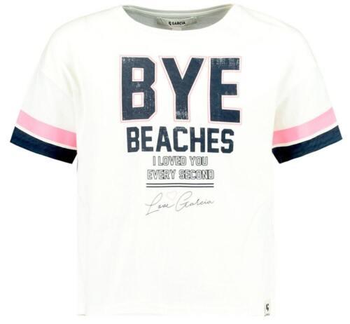 Garcia Mädchen T-Shirt kurzarm Gr 140-176 Shirt oversized kurz geschnitten