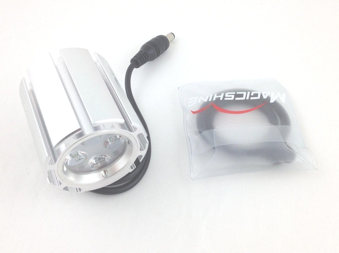 nuovo  MagicShine MJ856 4 mode 1600 Luuomini LED bicicletta Light Head ONLY  Orings